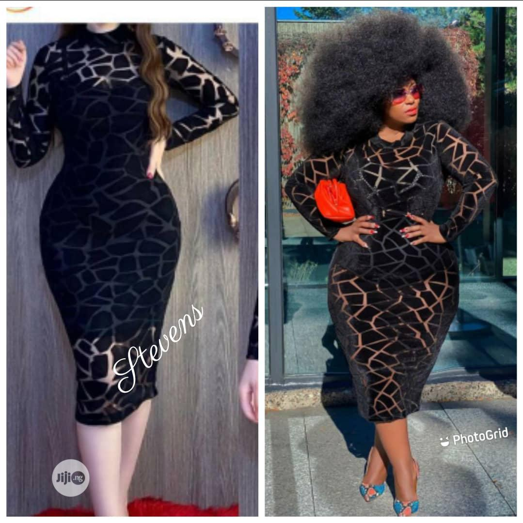 Quality Fitted Gown for Ladies | Clothing for sale in Surulere, Lagos State, Nigeria