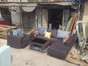 L Shape With Single And Center Table   Furniture for sale in Lagos State, Gbagada