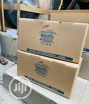 200ah Ritar 12v Deep Cycle Battery | Solar Energy for sale in Lagos State, Amuwo-Odofin