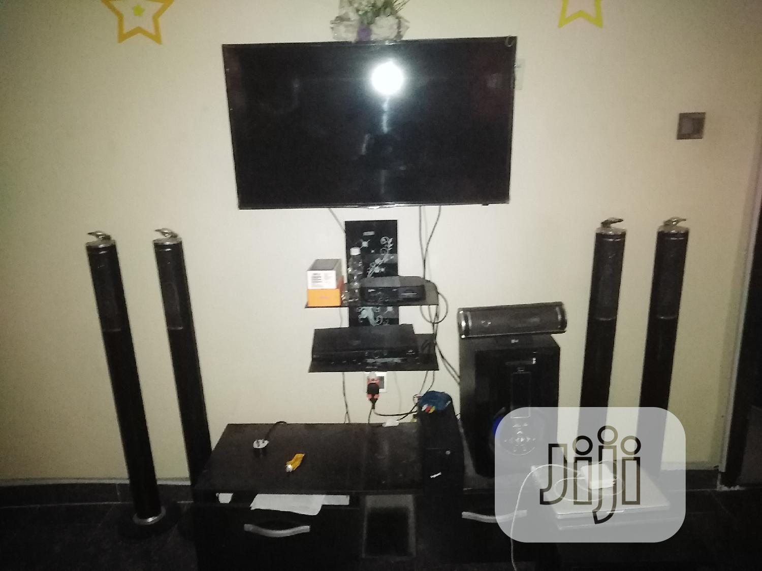 """Archive: Samsung 40"""" Led TV LG Home Theater With Bluetooth for Sale"""