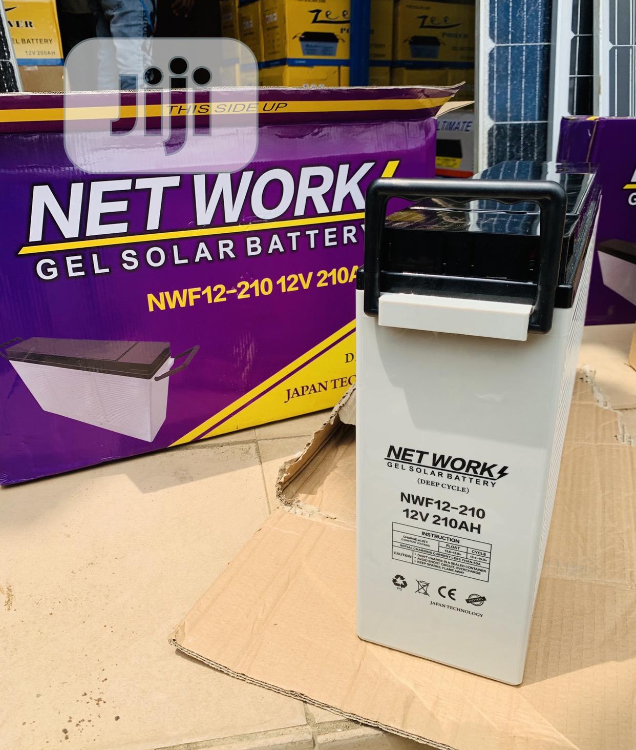 210ah 12v Network Slim Battery