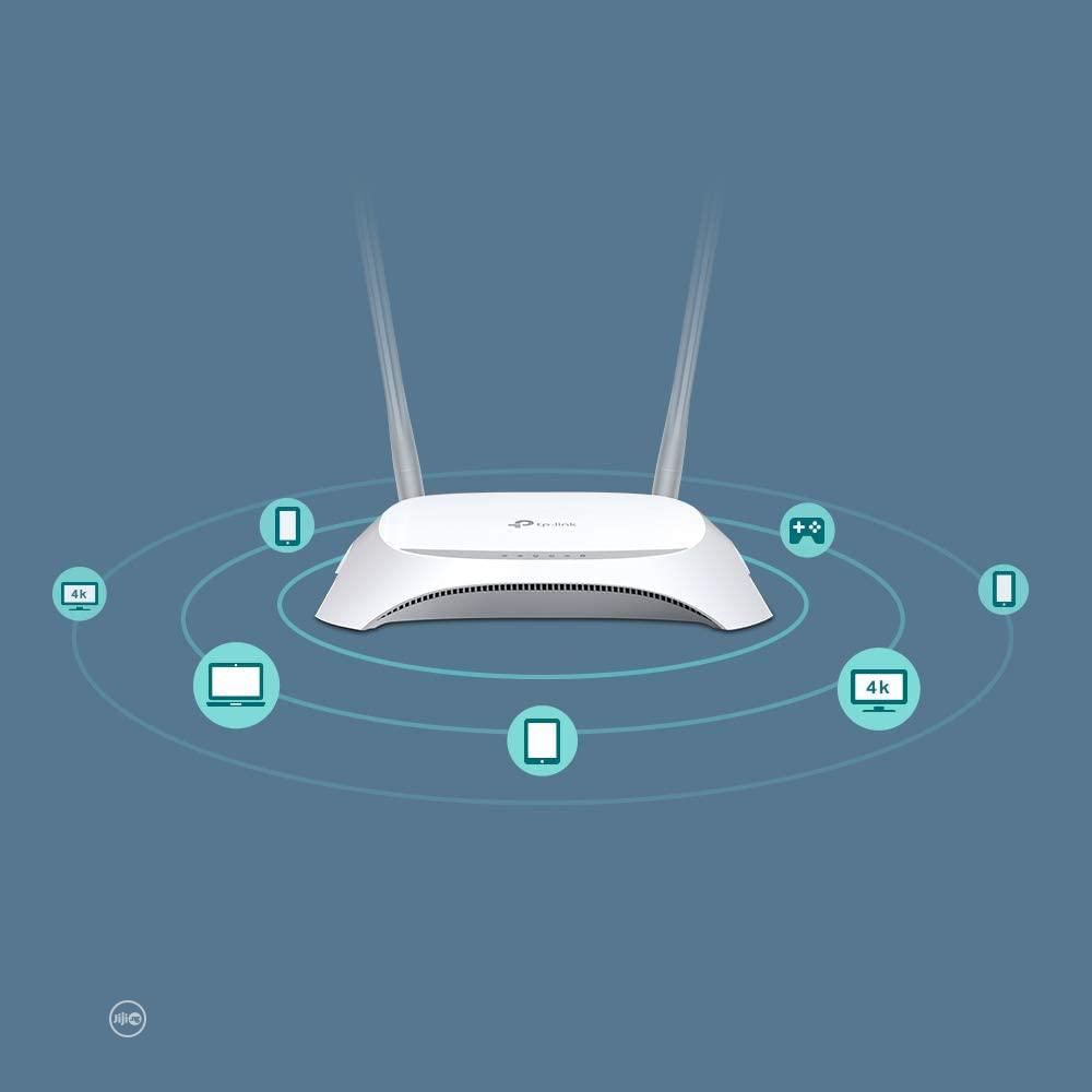 Tp-link Tl-mr3420 3G/4G Wireless N Router | Networking Products for sale in Ikeja, Lagos State, Nigeria