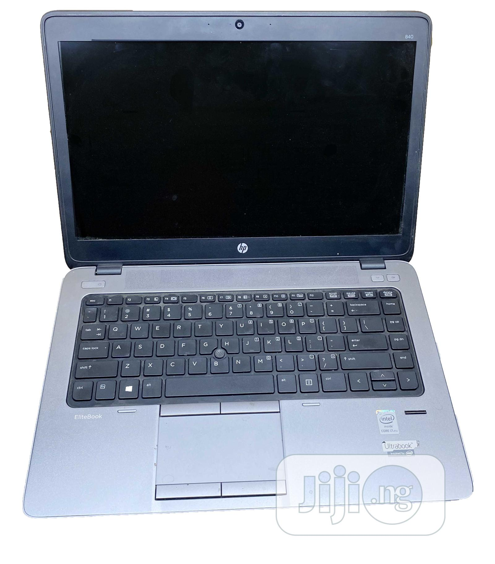 Laptop HP EliteBook 840 G1 8GB Intel Core i7 SSD 256GB | Laptops & Computers for sale in Ikeja, Lagos State, Nigeria