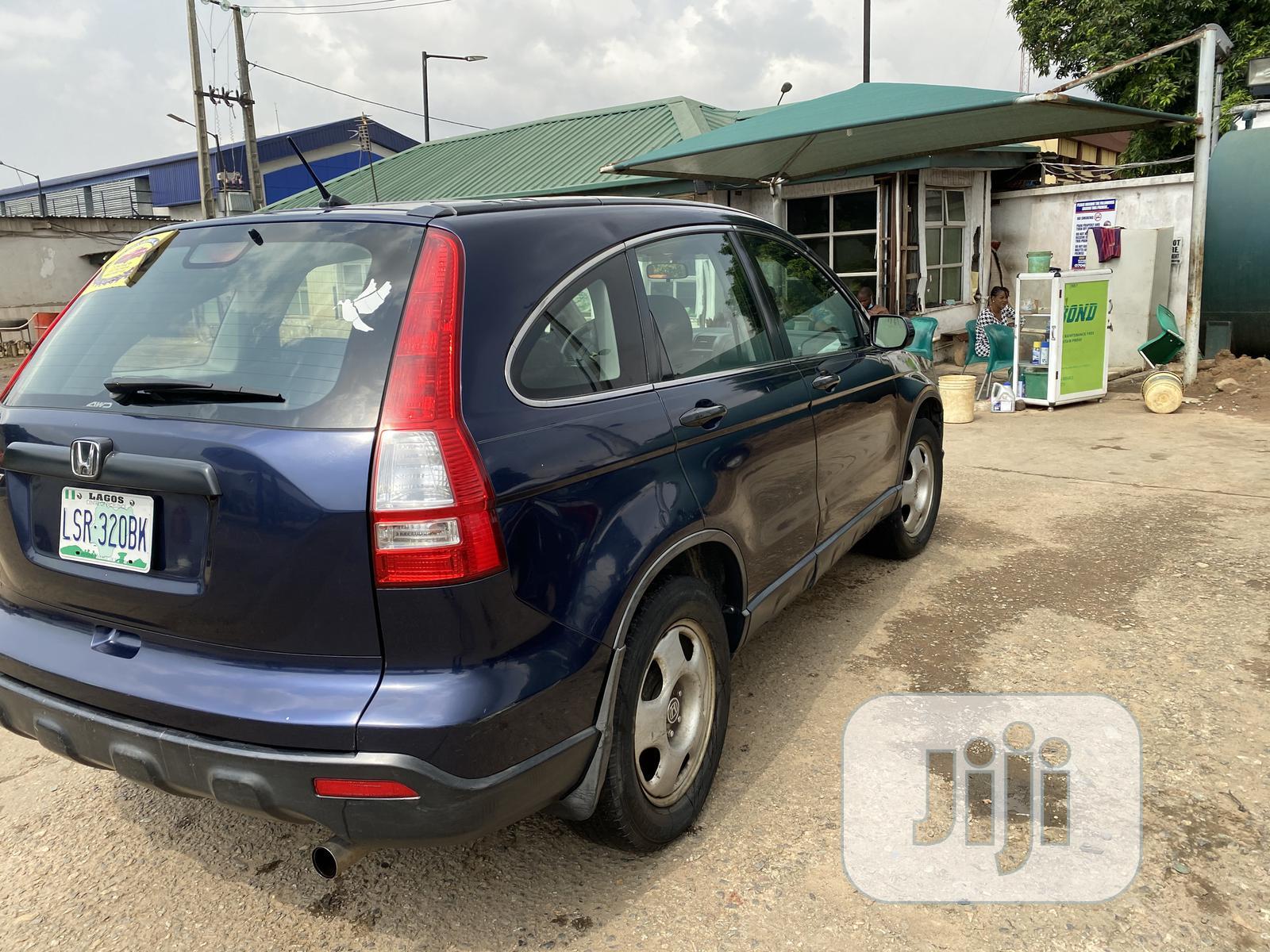 Honda CR-V 2008 Blue | Cars for sale in Ifako-Ijaiye, Lagos State, Nigeria