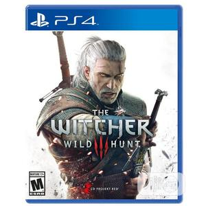Ps4 the Witcher 3: Wild Hunt | Video Games for sale in Lagos State, Ikeja