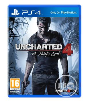 Uncharted 4: A Thief's End - Playstation 4   Video Games for sale in Lagos State, Ikeja