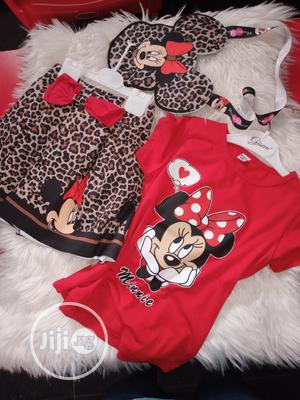 Mickey Mouse Top and Skirt | Children's Clothing for sale in Lagos State, Ojo