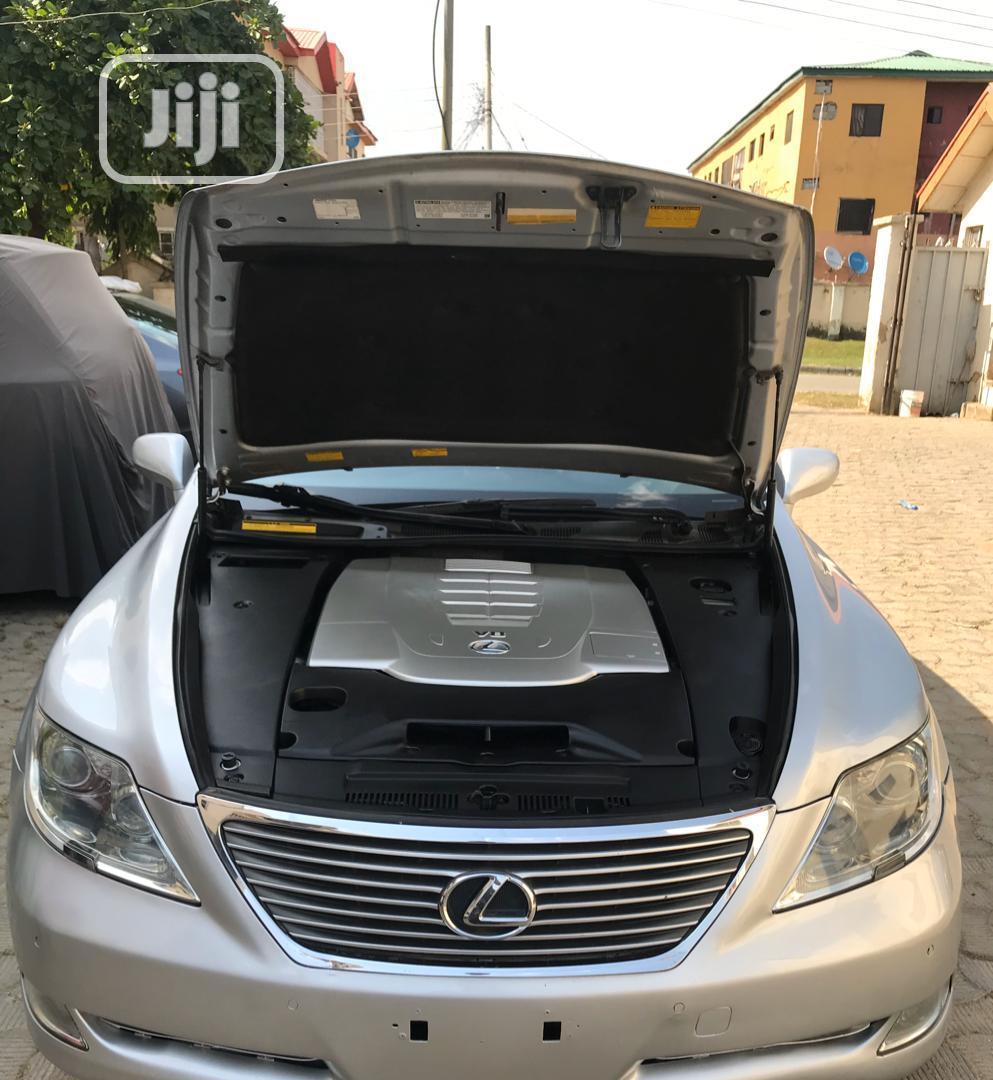 Lexus LS 2007 460 Silver   Cars for sale in Gwarinpa, Abuja (FCT) State, Nigeria