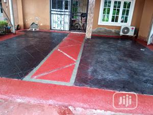 Installation Of Concrete Stamped Floor | Landscaping & Gardening Services for sale in Lagos State, Ajah