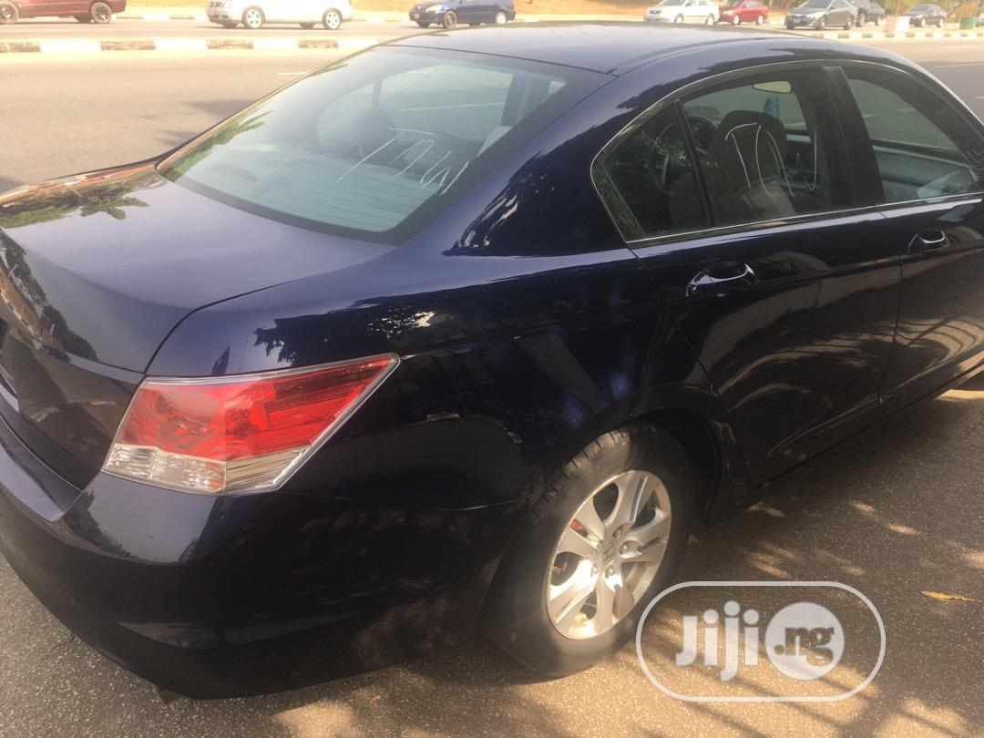 Honda Accord 2010 Blue   Cars for sale in Wuse 2, Abuja (FCT) State, Nigeria