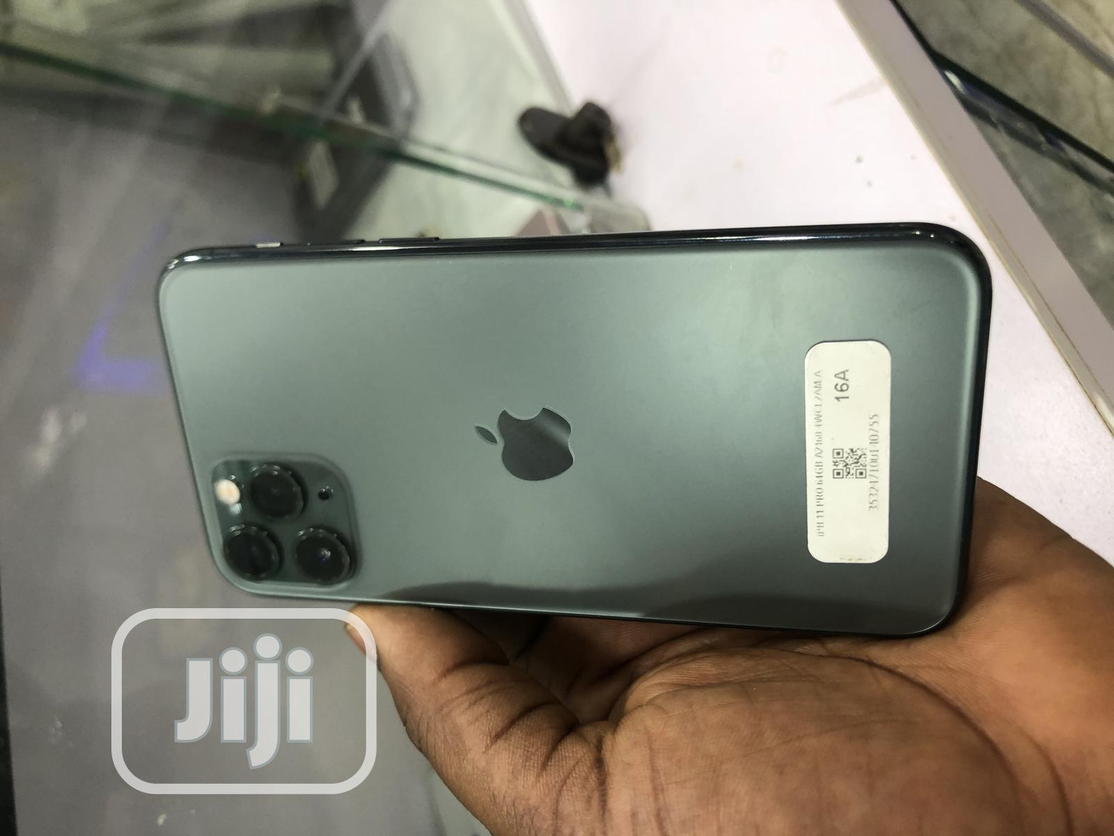 Apple iPhone 11 Pro 64 GB Green   Mobile Phones for sale in Osogbo, Osun State, Nigeria