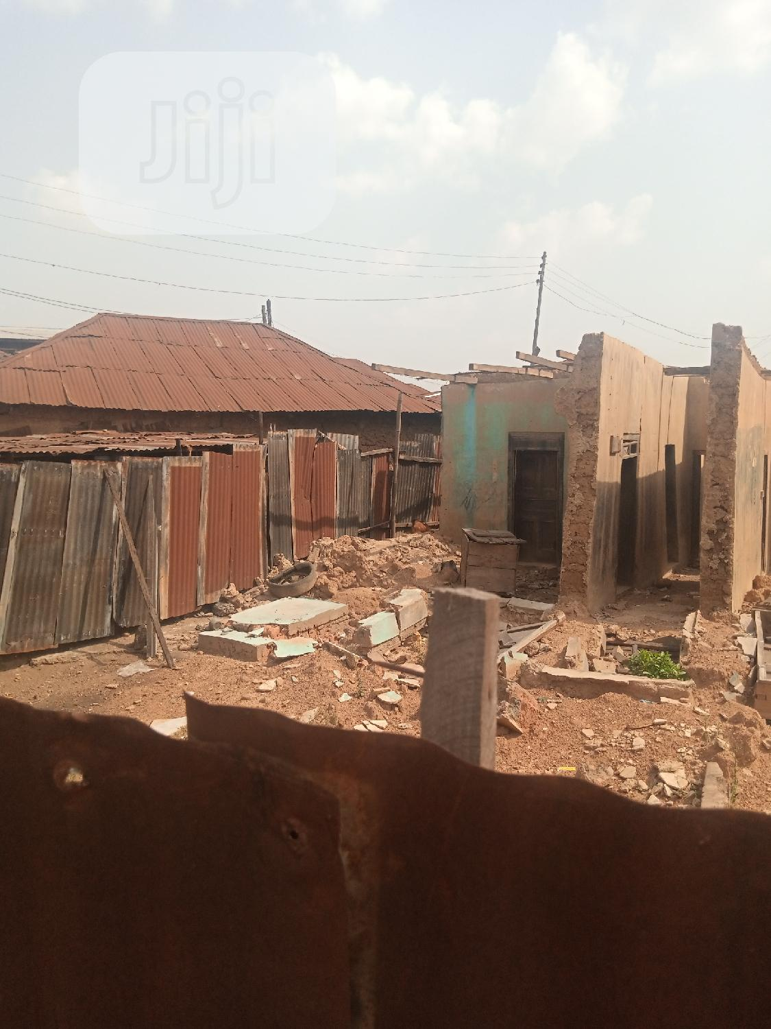 Available Land Within Oja Market Ibadan, Suitable Complex