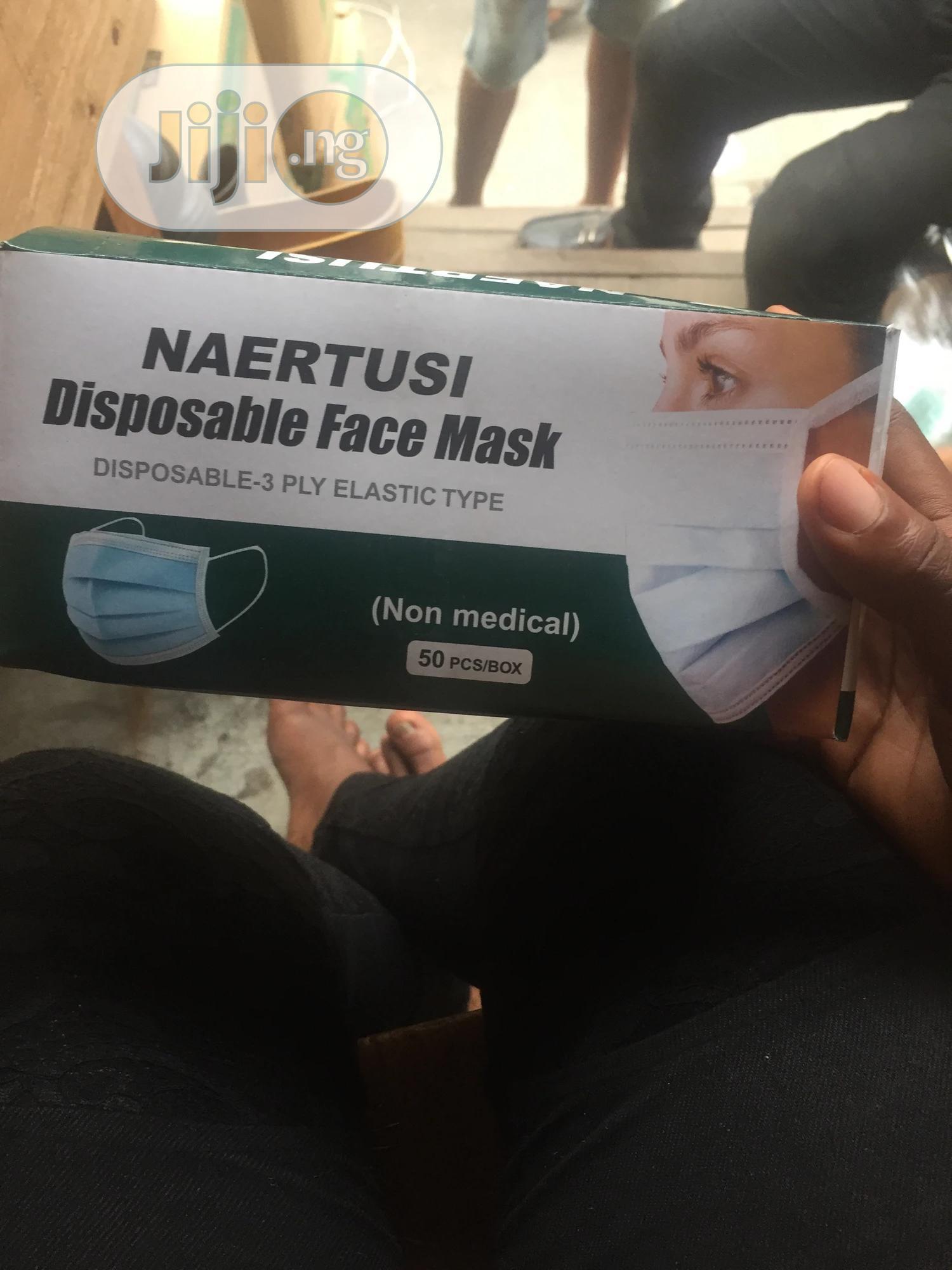 Disposable Face Mask | Medical Equipment for sale in Lagos Island (Eko), Lagos State, Nigeria