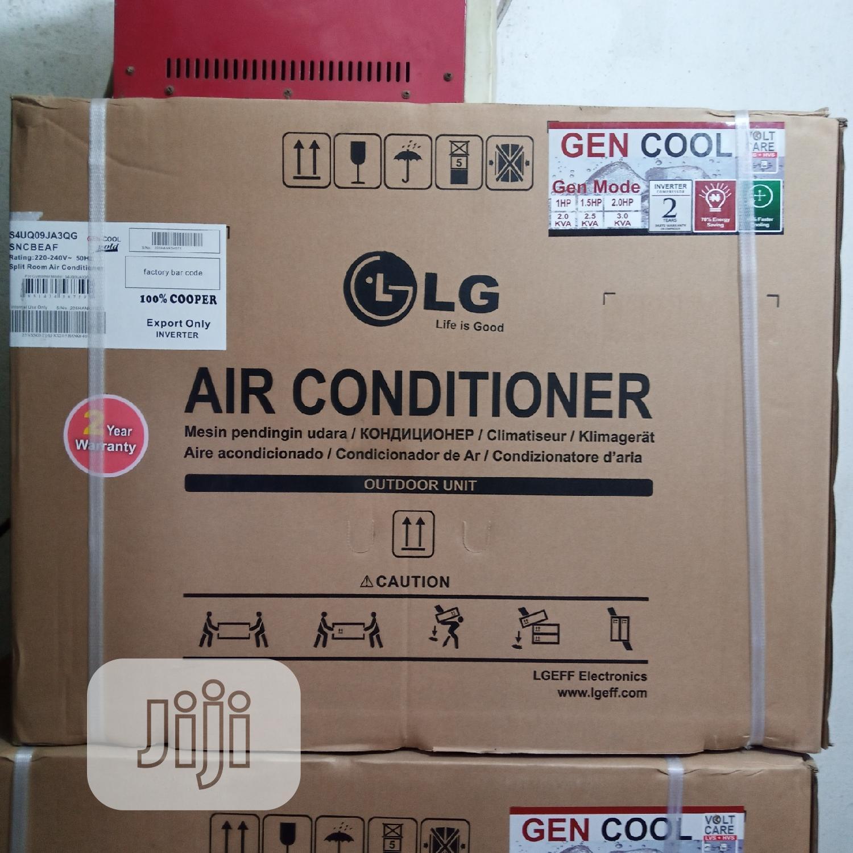 LG Air Conditioner Split Unit 1hp Inverter   Home Appliances for sale in Ojo, Lagos State, Nigeria