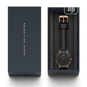 High Quality DANIEL WELLINGTON Leather Watch   Watches for sale in Lagos State, Magodo