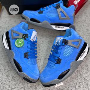 Original Air Jordan 4 'University Blue' Sneakers Available | Shoes for sale in Lagos State, Surulere