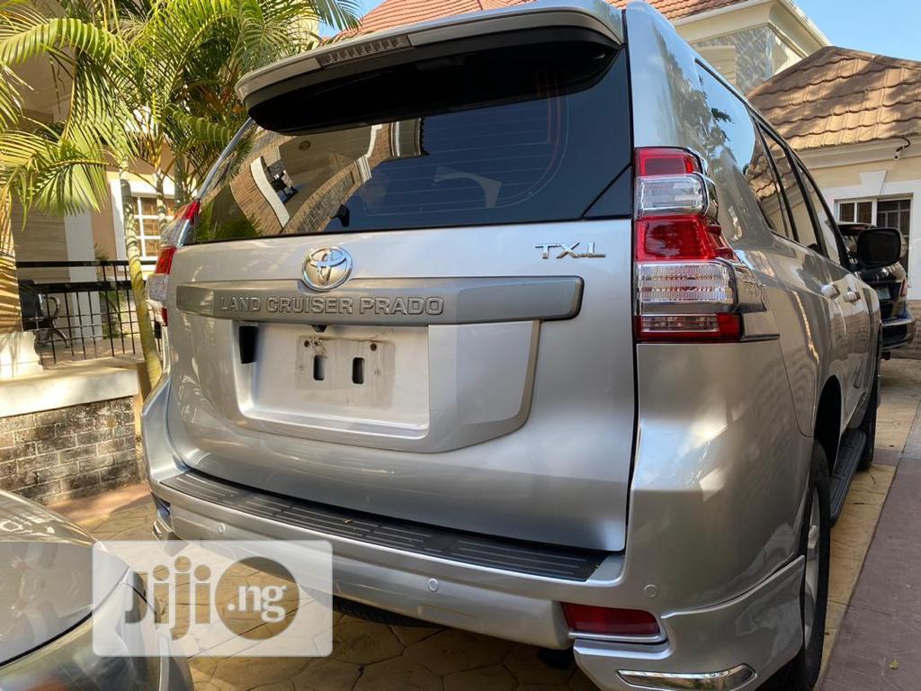 Archive: Toyota Land Cruiser Prado 2016 GXL Silver