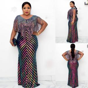 New Female Turkey Quality Long Sequence Dress With Fringes   Clothing for sale in Lagos State, Lagos Island (Eko)