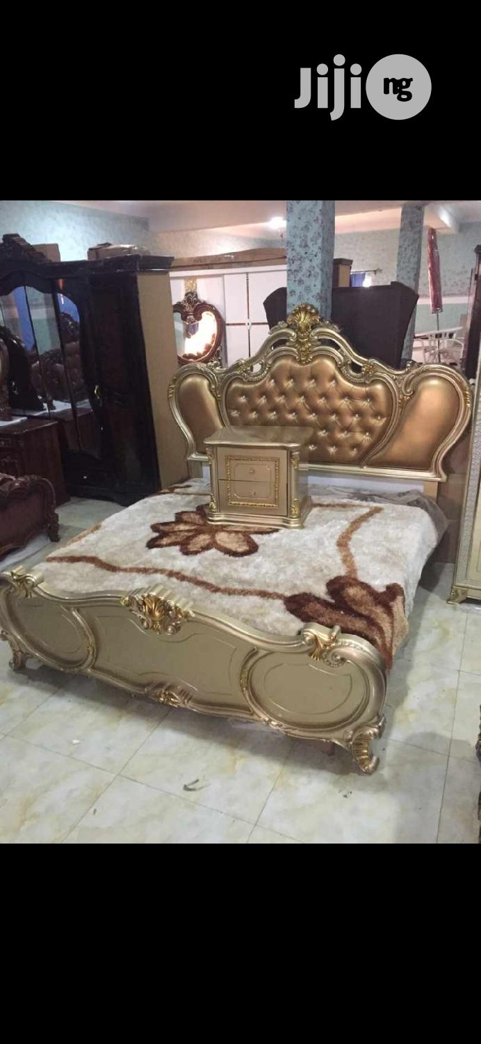 Brand New Imported Royal Set of Bed With Semi Orthopaedic   Furniture for sale in Ojo, Lagos State, Nigeria