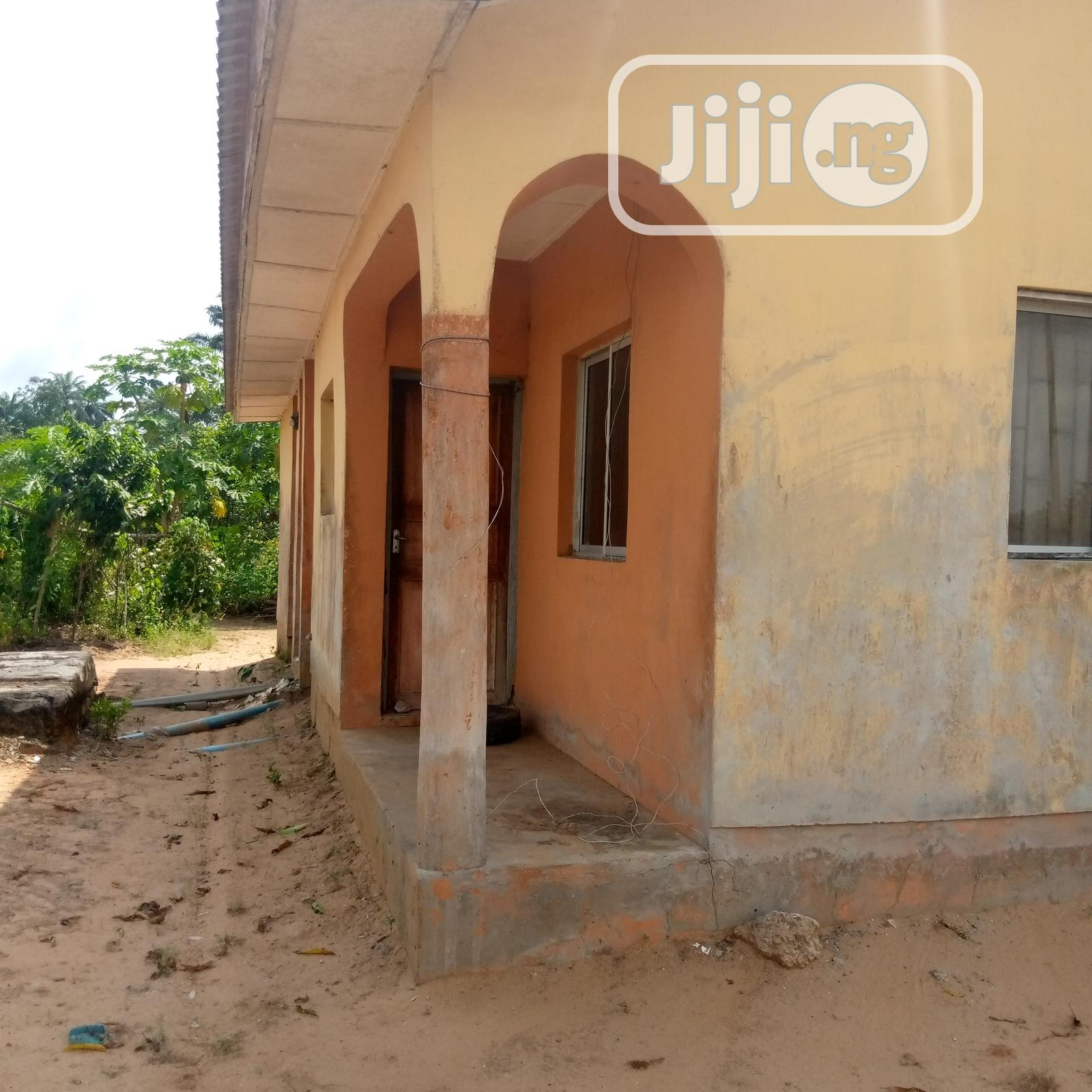 For Sale at Oleh, Delta State: 3 BR Flat in a LCHE | Houses & Apartments For Sale for sale in Isoko, Delta State, Nigeria