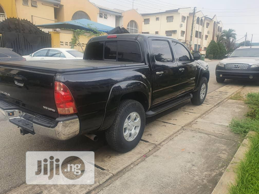 Archive: Toyota Tacoma 2008 4x4 Double Cab Black