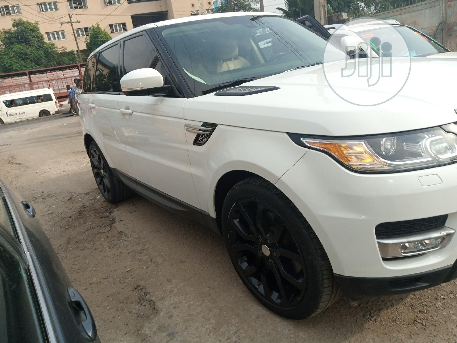 Land Rover Range Rover Sport 2014 White   Cars for sale in Ikeja, Lagos State, Nigeria