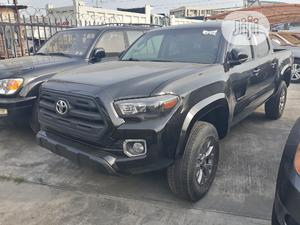 Toyota Tacoma 2016 4dr Double Cab Black | Cars for sale in Lagos State, Ajah