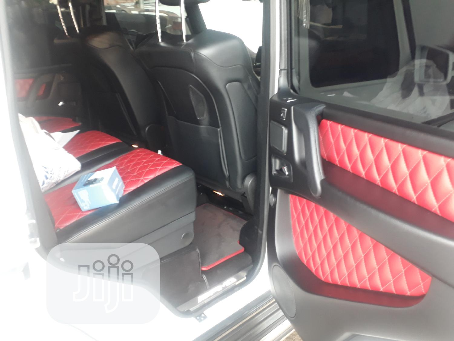 Archive: Mercedes-Benz G-Class 2014 White
