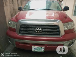 Toyota Tundra 2008 Double Cab Red | Cars for sale in Lagos State, Alimosho