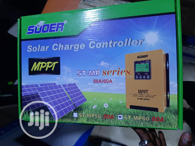 12V 24V 36V 48V 60A Suoer Solar Charge Controller