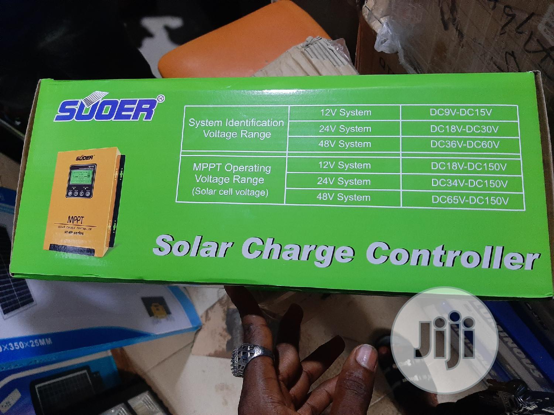 12V 24V 36V 48V 60A Suoer Solar Charge Controller   Solar Energy for sale in Ojo, Lagos State, Nigeria