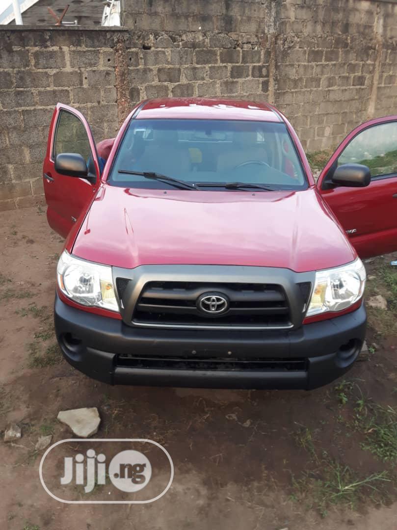 Toyota Tacoma 2007 Red | Cars for sale in Amuwo-Odofin, Lagos State, Nigeria