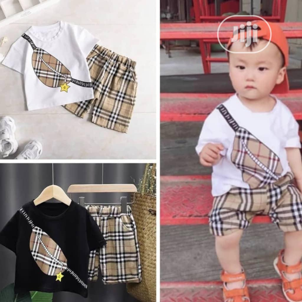 Archive: Super Cute Two Piece Set for Boys