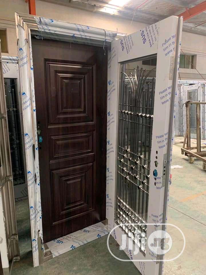 Glass Door In Door