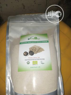 Organic Black Maca Powder 500G | Vitamins & Supplements for sale in Lagos State, Ikeja