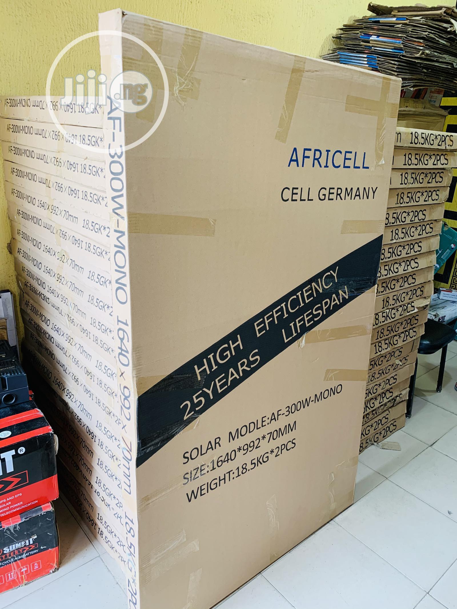 300watts Africell Mono Solar Panel