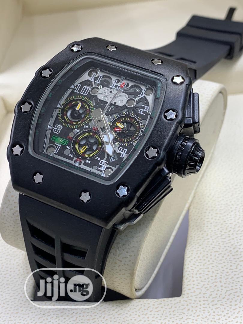 Richard Mille Rubber Watch