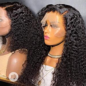 Super Double Drawn Pixie Frontal Curly Hair | Hair Beauty for sale in Lagos State, Ipaja