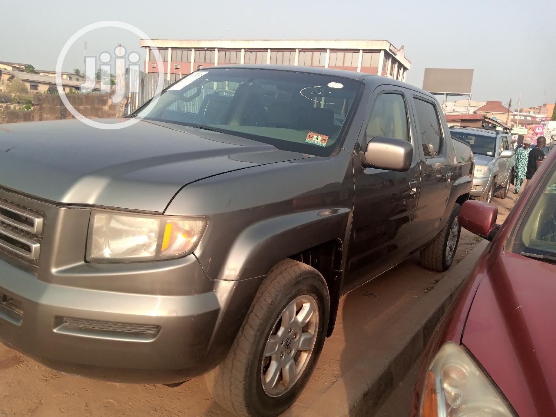 Honda Ridgeline 2007 Green | Cars for sale in Ibadan, Oyo State, Nigeria
