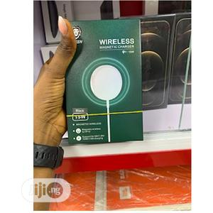 Green 15W Wireless Magnetic Charger | Accessories for Mobile Phones & Tablets for sale in Lagos State, Ikeja