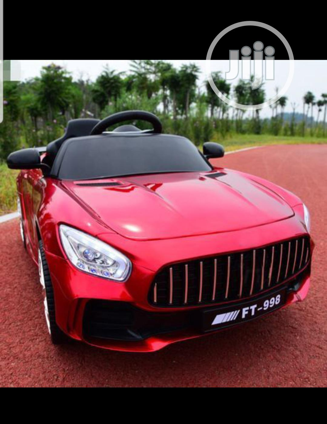 Archive: Electric Mercedes-Benz FT 998 Kids Ride on Car With Remote