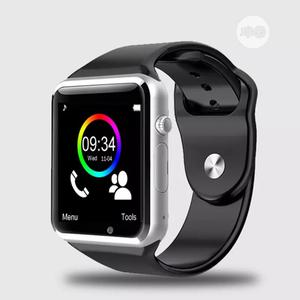 A1 Smartwatch, Fitness Tracker, Support SIM Card/Phone Call. | Smart Watches & Trackers for sale in Akwa Ibom State, Uyo