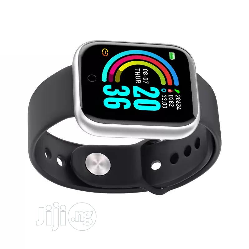 Y68 Smartwatches, Fitness Tracker, Connect IOS/Android Phone | Smart Watches & Trackers for sale in Uyo, Akwa Ibom State, Nigeria