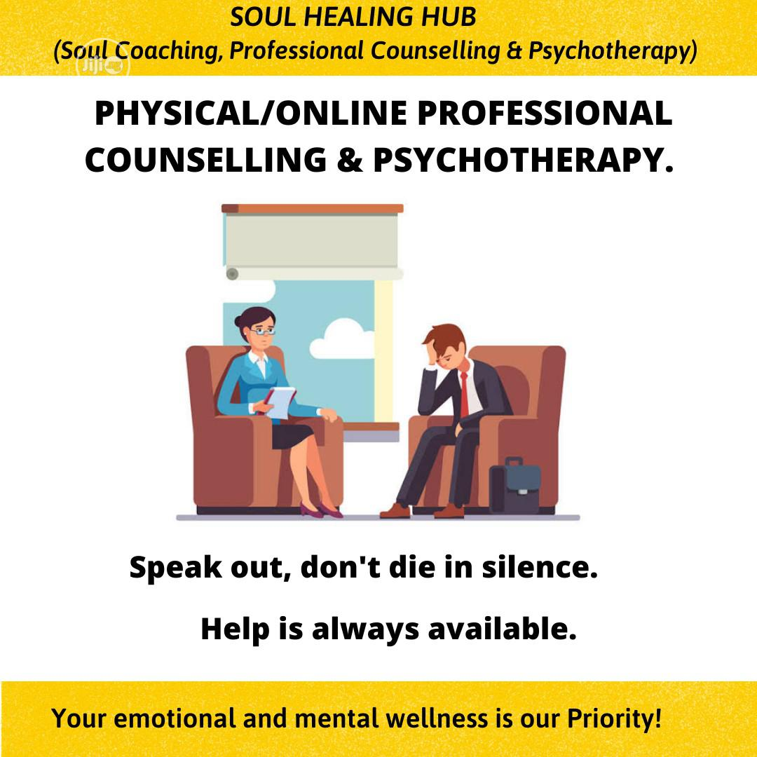 Physical/Online Professional Counselling & Psychotherapy