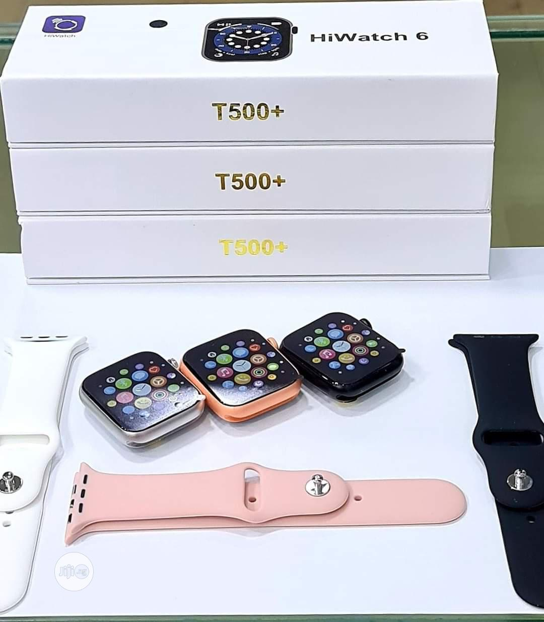 T500+ Plus Hiwatch 6 Series 6 IWO 13 Smart Watch | Smart Watches & Trackers for sale in Ikeja, Lagos State, Nigeria