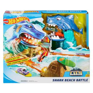 Hot Wheels Shark Beach Battle Play Set | Toys for sale in Lagos State, Ajah