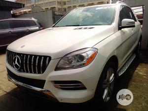 Mercedes-Benz M Class 2012 ML 350 4Matic White | Cars for sale in Lagos State, Isolo