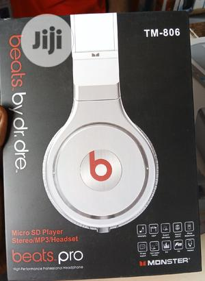 Beats by Dre Bluetooth Headphone HQ. | Headphones for sale in Lagos State, Ikeja