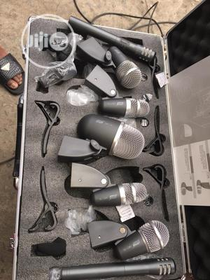 7 Set Drum Microphone | Audio & Music Equipment for sale in Lagos State, Mushin