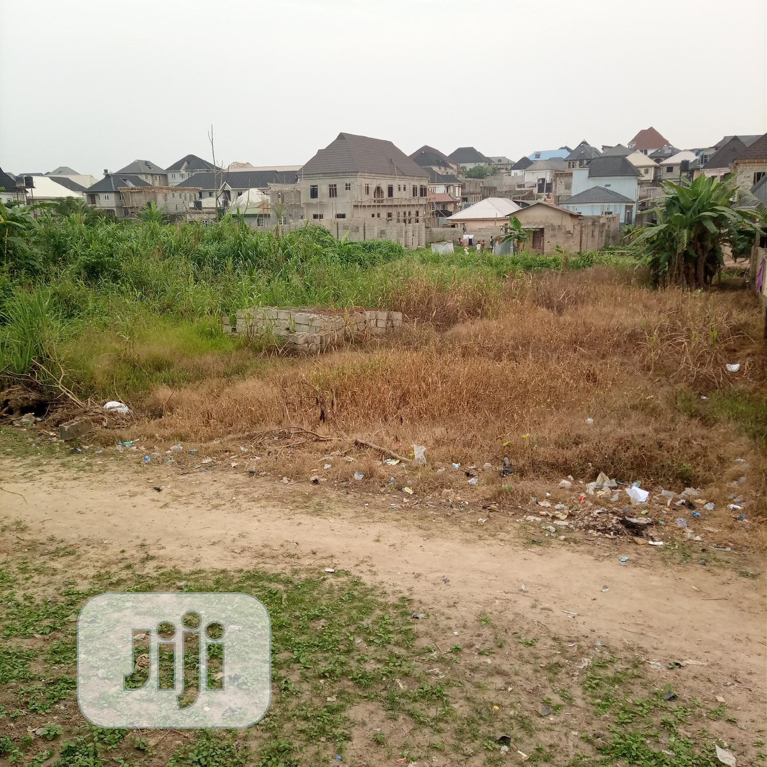 For Sale. Half Plot of Land at Ile Iwe, Meiran | Land & Plots For Sale for sale in Ifako-Ijaiye, Lagos State, Nigeria